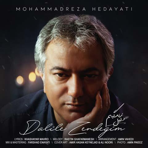 دانلود آهنگ جدید دلیل زندگیم از محمدرضا هدایتی